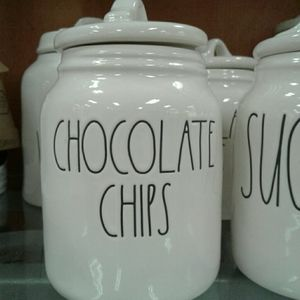 Rae Dunn Canister CHOCOLATE CHIPS
